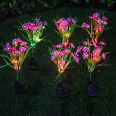 Lamp Outdoor Colorful Light Solar Small Wild Flower Landscape Courtyard Lawn Lamp