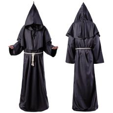 Costume Plague Doctor Cosplay Monk Suit Adult Role Playing Decoration Clothing
