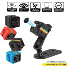 Hebeiros 1080P Mini Camcorders Sport DV Mini Camera Night Vision Battery Wireless Car DV Digital Video Recorder SD Card SQ11