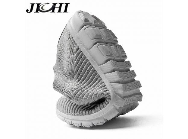 JICHI Men Shoes Lightweight Breathable Summer Men Sneakers Comfort Non-slip Men Casual Shoes Summer Size 47 Zapatillas Hombre