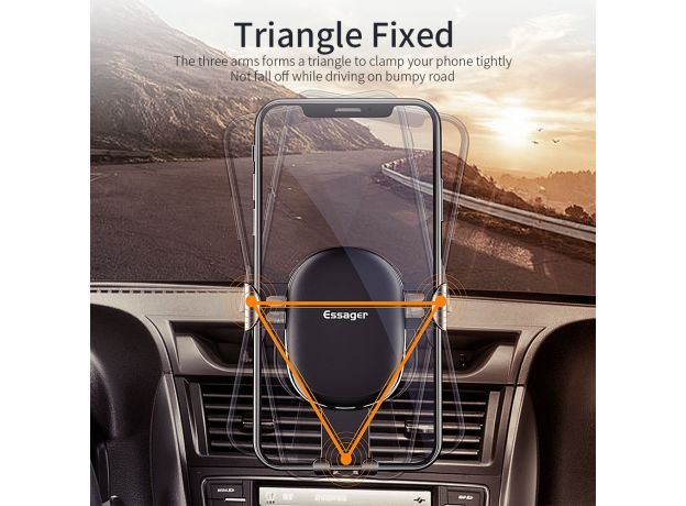 Holder For iPhone Samsung Universal Mount Holder For Phone in Car Cell Mobile