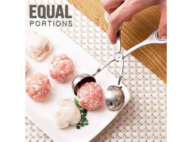HandyLife Meatball Maker Kitchen Convenient Stainless Steel Stuffed Meatball Clip DIY Fish Meat  Rice Ball Maker Cooking Tools