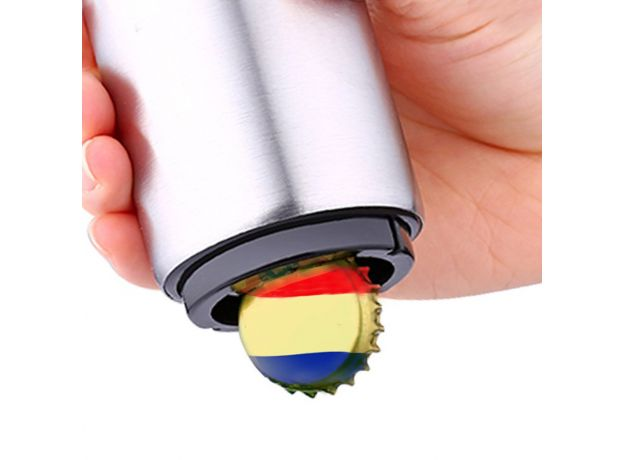 Meijuner Openers Fully Automatic Stainless Steel Cap Beer Opener Creative Personality Opener Kitchen Tools For Home Restaurant