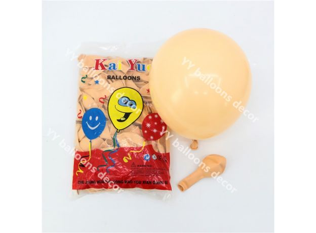 Latex Retro Coffee Skin DIY Balloons Garland Arch Metal Gold Globos Birthday Wedding Baby Shower Anniversary Party Decorations