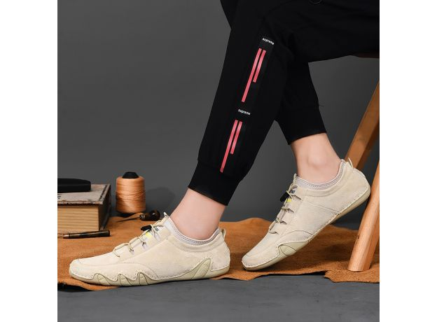Men's Sneakers Cow Suede Leather Men Loafers Shoes Fashion Slip on Men Driving Shoes Soft Sapato Masculino Mocassin Homme Shoes