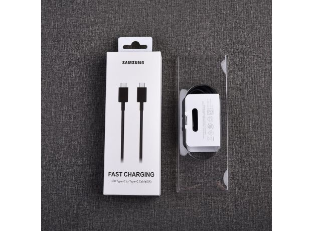 Samsung Galaxy Note 10 25W Super Fast Charging Adapter PD Charger 100CM USB C To USB C Cable