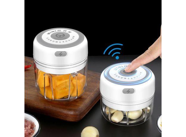 100/250ml Garlic Masher Press USB Wireless Electric Mincer Vegetable Chili Meat Grinder Food Crusher Chopper Kitchen Accessories
