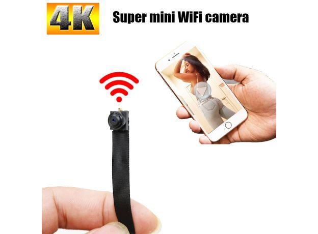 HD 4K Mini Camera Mini Wireless DIY Portable WiFi IP Night vision Remote View P2P Micro webcam 1080P Digital Mini Camcorder 128G