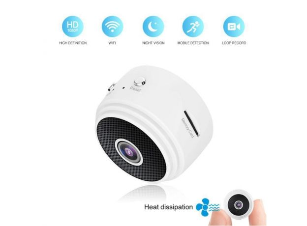 Indoor and outdoor USB connection A9WIFi home security camera 4K HD security sports HD night vision infrared 1080p aerial DVD