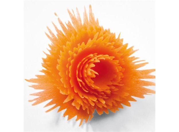 VIERUODIS Fruit Vegetable Creative Plastic Cutter Rotating Peeling Cut Flower Kitchen Cooking Hole Shape Cutter Household Gadget