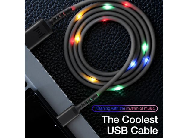 USB Cable for iPhone 12 Pro Max 11 Xs Max X 8 Plus Cable 2.4A Fast Charging Cable