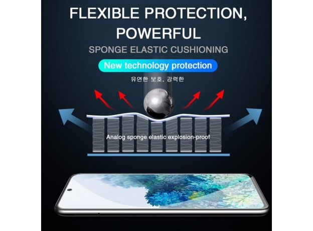Soft screen protector for samsung galaxy s20 Protective glass s 20 ultra plus 20s hydrogel film samsungs20 s20plus s20ultra
