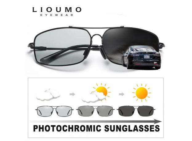 Sunglasses Men Polarized Women Day Night Vision Driving Goggles Sun Glasses