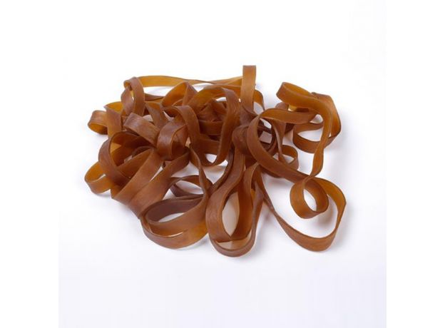 20 Pieces Wide 10mm Brown Rubber Strong Elastic Band Office School Supply Stationery Accessories High Quality 200mm Rubber Bands