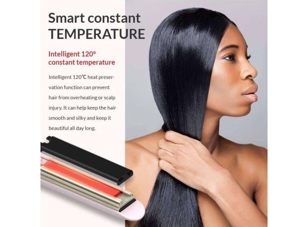 Mini Hair Curler Straightener Hair Iron High Quality flat iron Straightening hot comb