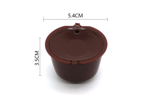 10PCS Refillable Coffee Capsules for DOLCE GUSTO Coffee Pods Reusable Coffee Filter Plastic