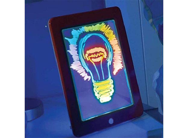 3D Magic Drawing Pad set Children's Fluorescent Puzzle Magical Graffiti Writing board Games Luminous Montessori Educational toys