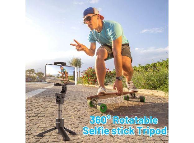 Ulanzi MT-38 Mini Selfie Stick Tripod Smartphone Vlog Tripod For iPhone 12 11 Pro Max Andriod Gopro 9 8 7 Max Gopro Accessories
