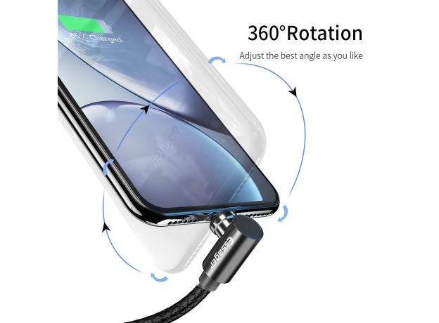 Essager Magnetic  Charger Adapter with USB Cable For iPhone Android