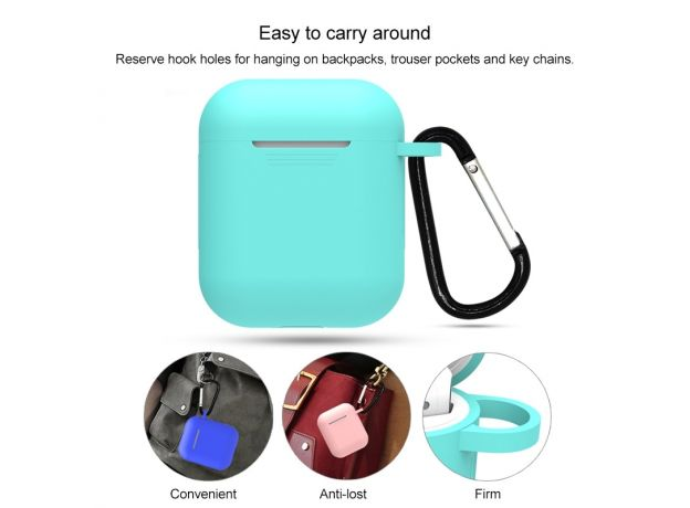 7 in 1 Soft Silicone Case For Airpods  2/1 Protector Fundas Airpods Case For Apple Earphones
