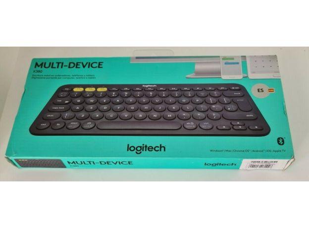 LOGITECH K380 Wireless Keyboard For PC Laptop, Ipad, phone