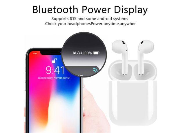 I12 TWS Wireless Headset Bluetooth Earphone Sport 5.0 Stereo Wireless Earbud for Apple IPhone Xiaomi Huawei Samsung Headphones